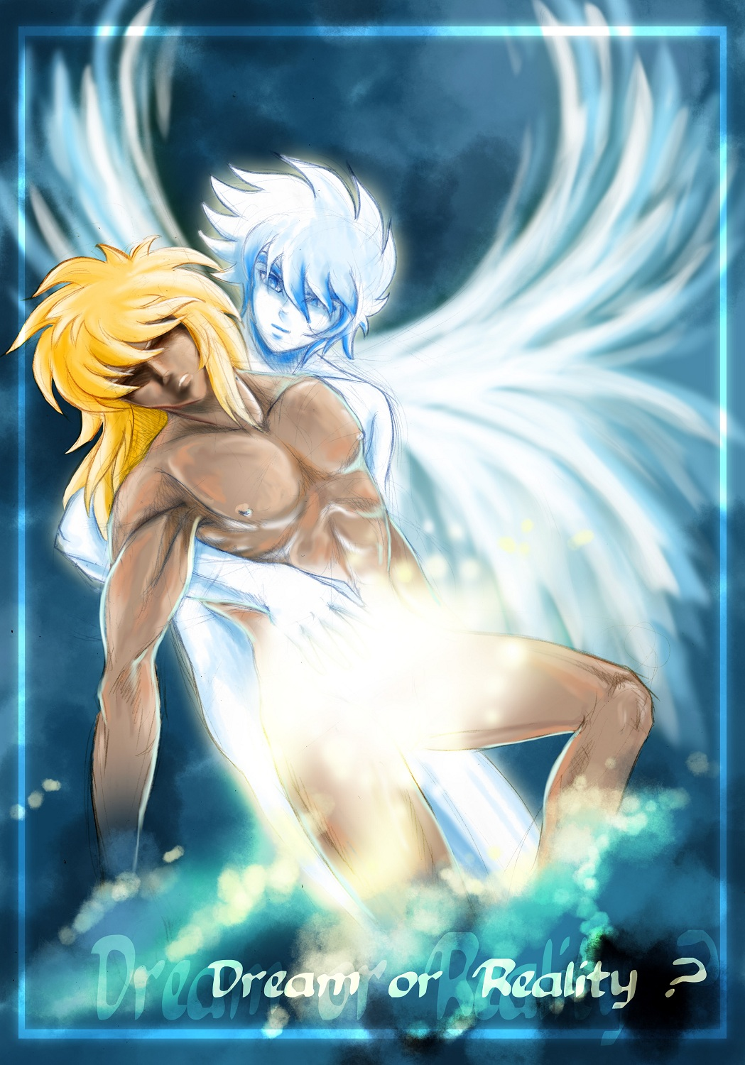 Dream or Reality-Saint Seiya-Hyoga x Seiya-Noux-Yaoi Island-Pic47