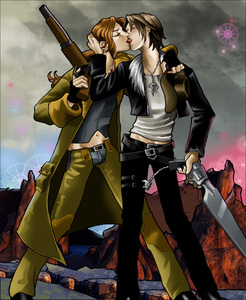 Kiss Before Battle at Tears Point-PLNunn-Final Fantasy 8-Squall x Irvine-Yaoi Island-Thumb116