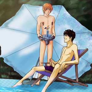Slave Ron Chronicles  Best Vacations Ever-Harry Potter-Harry x Ron-Schg-Yaoi Island-Thumb164